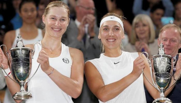 Россиянки в финале Уимблдона всухую разгромили соперниц