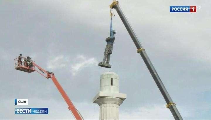 На США с Украины и Польши обрушился вирус борьбы с памятниками