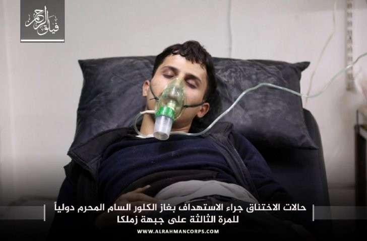 Шок: От химатаки в Сирия: у боевиков симулирующих отравления появились вши и признаки употребления героина (+ВИДЕО, ФОТО)