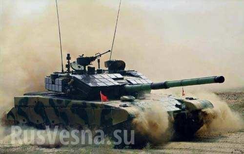 Т-14 «Армата»: китайская попытка превзойти новый русский танк