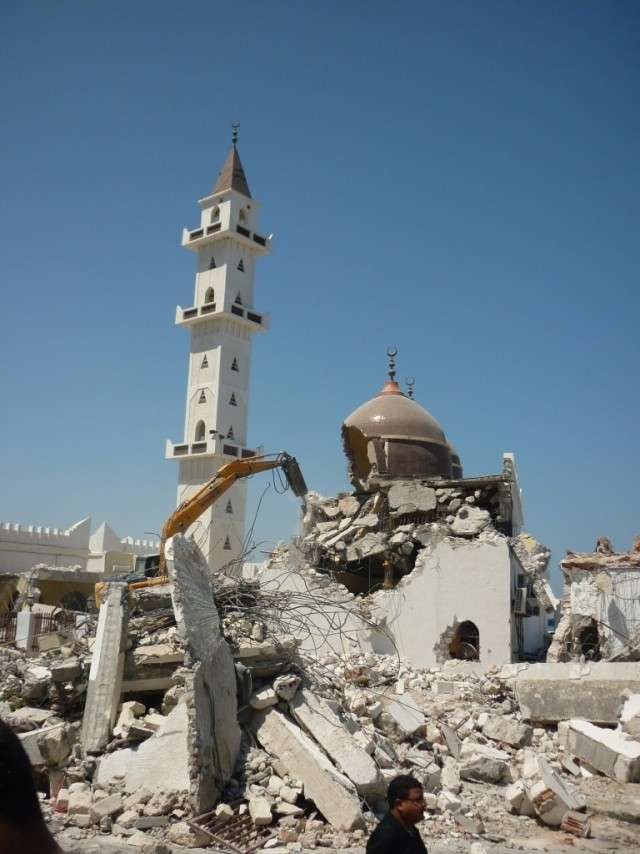 Разрушенная мечеть. Триполи
