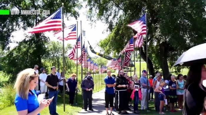 В дикой Америке католики и сатанисты спорят чей памятник ветеранам лучше
