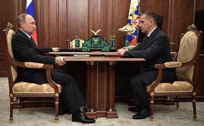 Владимир Путин провёл встречу с представителем Президента в ДФО