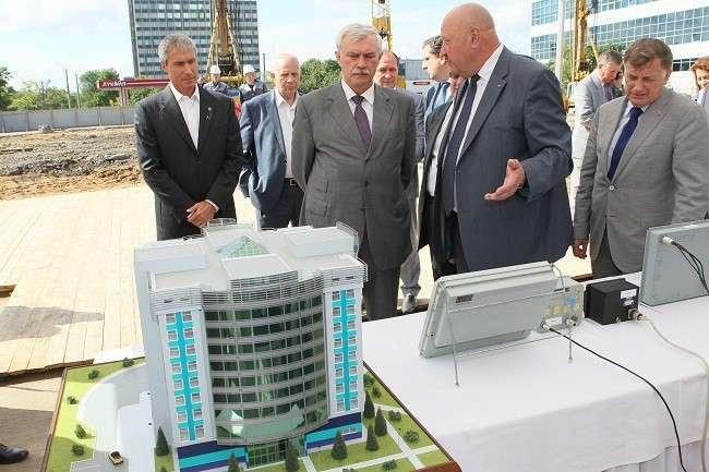 В Санкт-Петербурге началось строительство научно-производственного центра компании «Элкус»