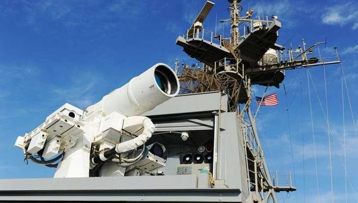 США испытали боевой лазер у границ Ирана