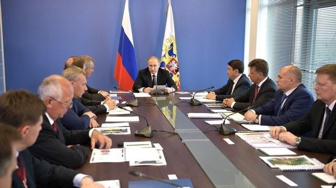Владимир Путин провёл совещание повопросам развития гражданского авиастроения