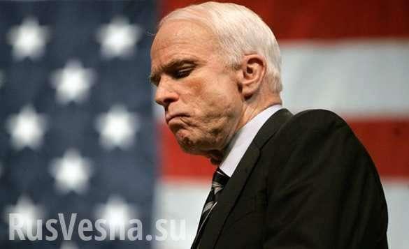 «Путину мало Донбасса, ему нужна вся Малороссия, санкции не работают», Джон Маккейн | Русская весна