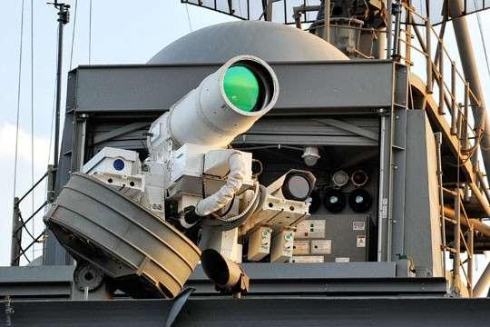 Лазерные пушки ВМФ США уязвимы для обычных радиопомех