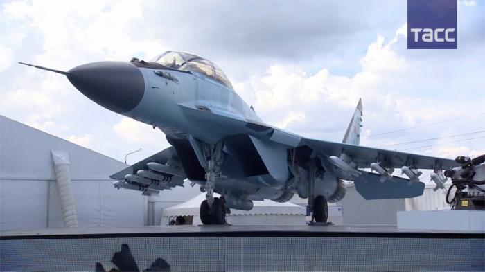 МиГ-35 показали на МАКС-2017. Смерть F-35 готова к бою