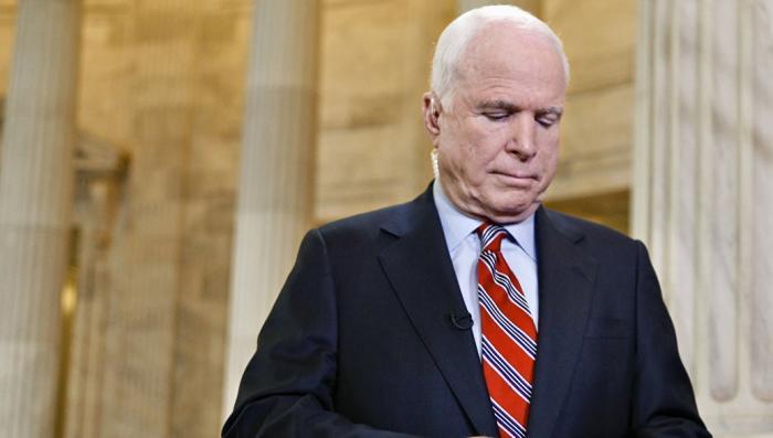 США: Джон Маккейн заработал раковую опухоль мозга. У русофобии есть своя цена!