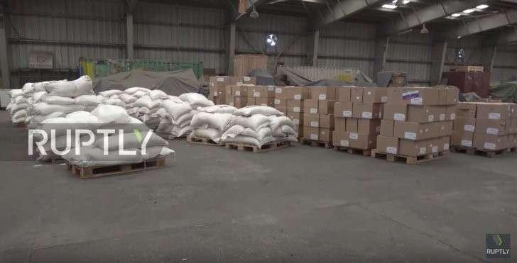 Гумпомощь России Йемену: саудовские абрамсы так красиво горят