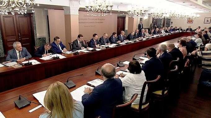 Вступительное слово назаседании Совета помежнациональным отношениям
