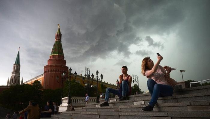 Москва: МЧС предупредило о серьёзном ухудшении погоды