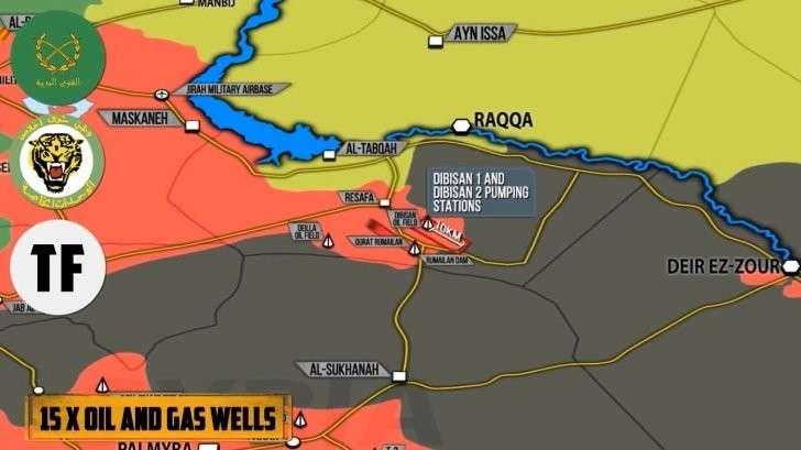 Сирия: массированная контратака американских наёмников ИГИЛ на сирийскую армию