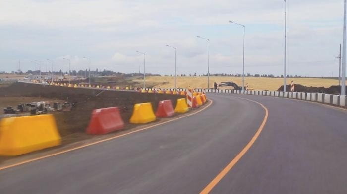 Крым: поновому участку трассы «Таврида» пустили первые автомобили