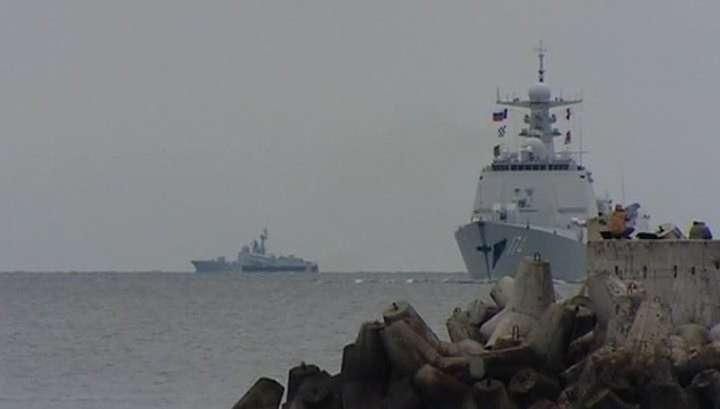 Балтика: начались совместные российско-китайские морские учения