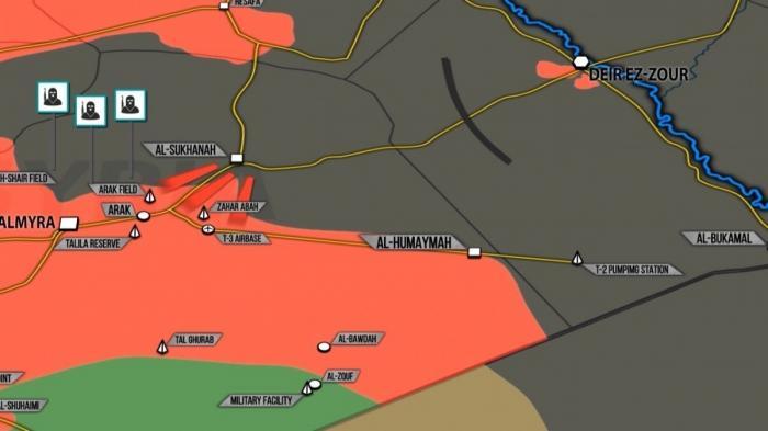 Сирии: кровопролитные бои правительственной армии против наёмников США