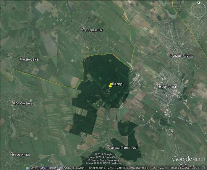 В Молдове обнаружена секретная база США /ФОТО/