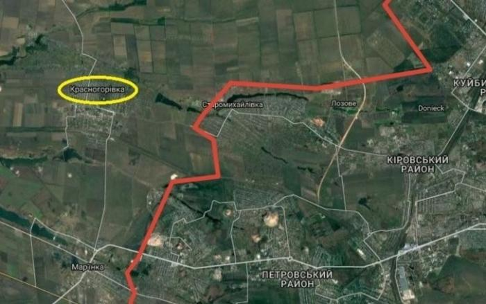 Бой под Красногоровкой: каратели из ВСУ могли быть разгромлены