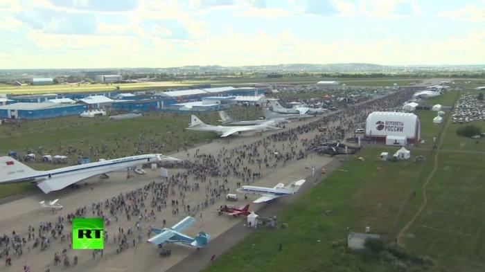 МАКС-2017 с высоты птичьего полёта – эксклюзивные кадры из вертолёта