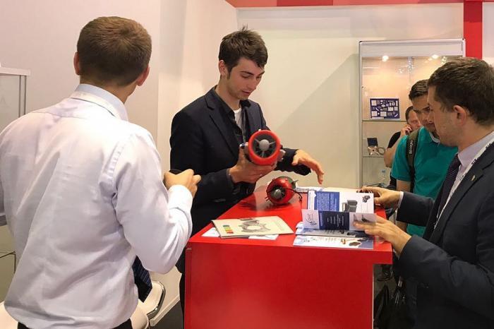 На МАКС-2017 представили первый газотурбинный двигатель напечатанный напринтере в России