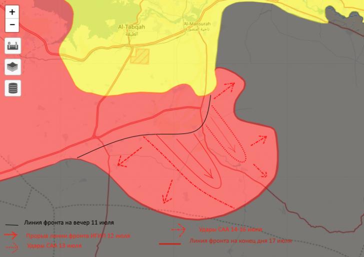 Победа в Сирии: армия выходит к Евфрату и готовит противнику котёл