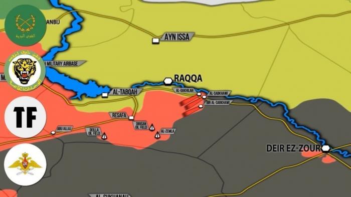 Сирия, Ракка: правительственная армия взяла силы США в полукольцо!