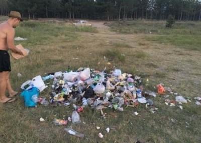 Курорты Украины, Херсонщина: бандиты на границе, аллергичная мусорка на побережье