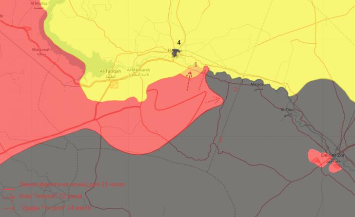 Сирия: Евфрат, время играет против США, а разгром наёмников глобалистов из ИГИЛ близок