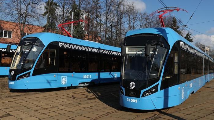 ВМоскве на маршруты №11 и 25 вышли трамваи нового поколения «Витязь-М»