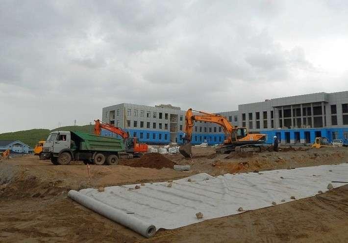 В Мурманске ударными темпами идёт строительство Нахимовского военно-морского училища