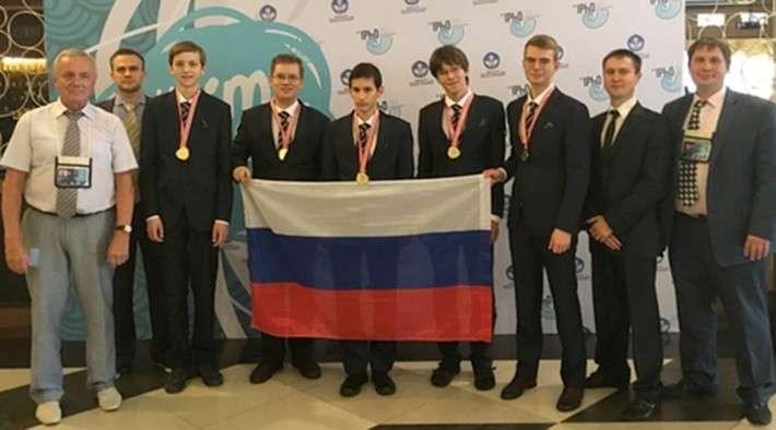 83. Сборная российских школьников завоевала пять золотых медалей на Международной олимпиаде по физике завод, политика, проивзодство, россия, строительство