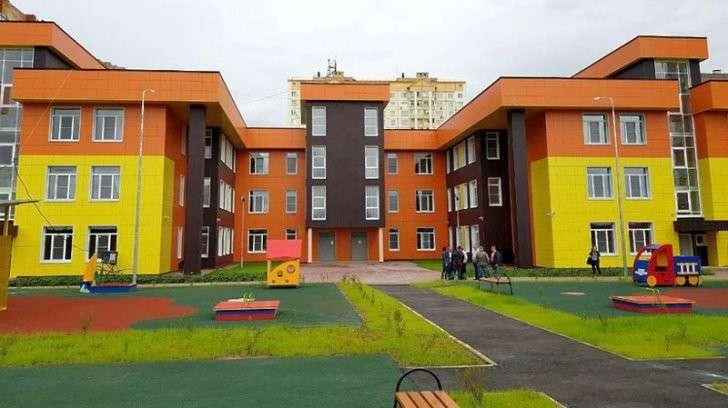 2. Детский сад на 250 мест построили в Нахабине завод, политика, проивзодство, россия, строительство