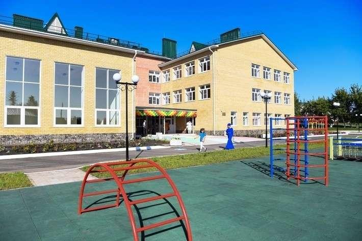 4. В Пензенской области открыта сельская школа-детский сад завод, политика, проивзодство, россия, строительство