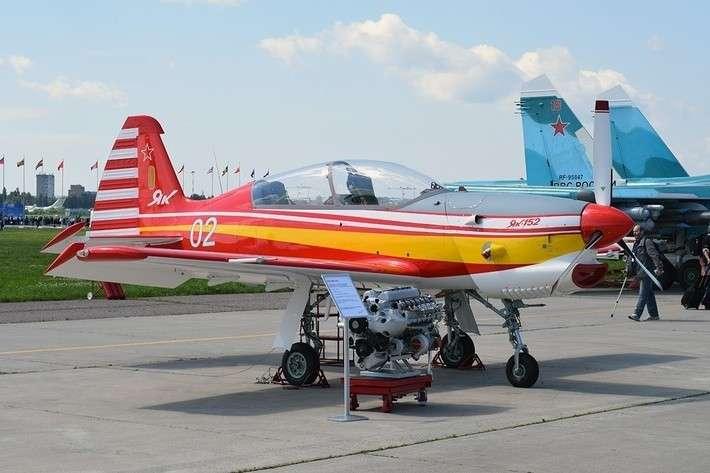 15. Представлен второй летный прототип самолета Як-152 завод, политика, проивзодство, россия, строительство