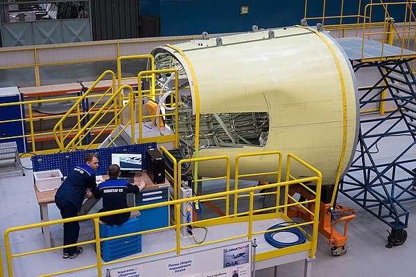 17. «Авиастар-СП» завершил сборку агрегатов на четвертый самолет МС-21 завод, политика, проивзодство, россия, строительство