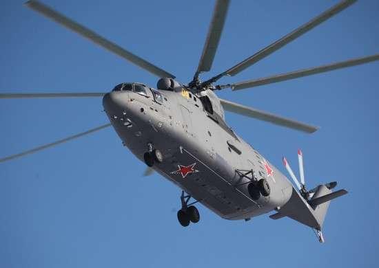 22. Завершена приемка транспортного вертолета Ми-26 для авиасоединения ВВО в Хабаровском крае завод, политика, проивзодство, россия, строительство