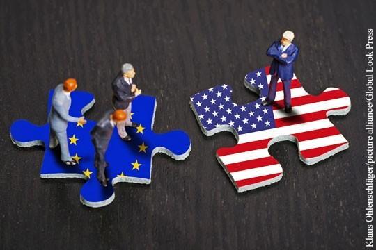 Санкции США толкают Европу навстречу России