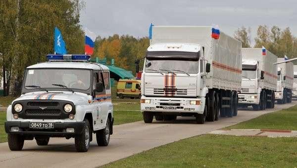 Украинские таможенники начали оформление первых 4 машин конвоя из РФ