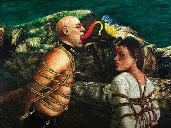 Картина художника Александра Ройтбурда.