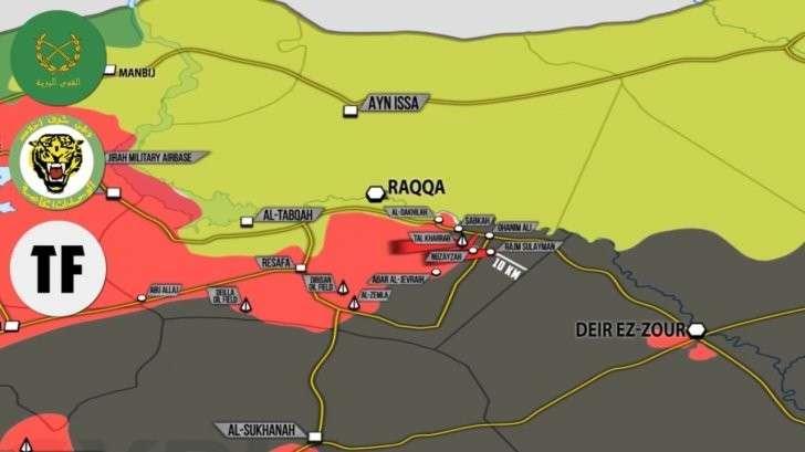 Сирия: Штурм оплота ИГИЛ на пути к осаждённому Дейр эз Зору