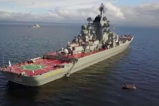Петербург: Великая морская держава показывает свою мощь