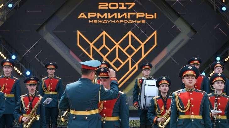 Церемония открытия Армейских международных игр – 2017