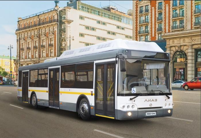 В Нижний Новгород поставлено 100 новых низкопольных автобусов ЛиАЗ