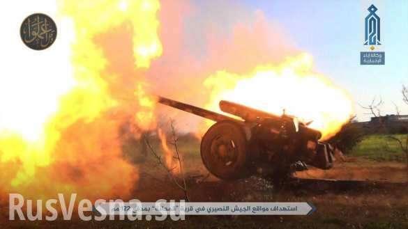 Обстановка обостряется: очевидец снял на камеру бои между боевиками всирийском Идлибе (ВИДЕО) | Русская весна