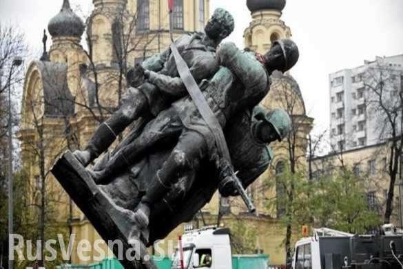 Кремль готовит Польше асимметричный ответ за уничтожение советских памятников | Русская весна