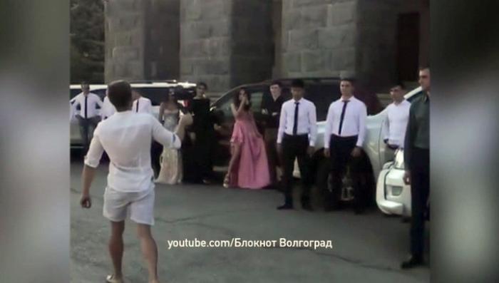 В Волгограде выпускники академии МВД поразили всех своей показной нескромностью