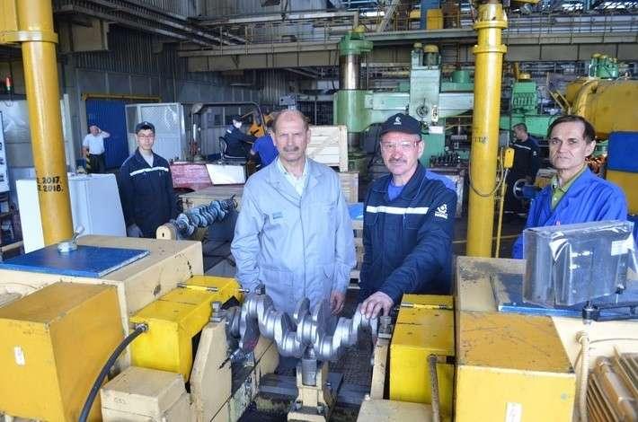 На кузнечном заводе КамАЗа освоены коленвалы для ЯМЗ политика, проивзодство, россия, строительство