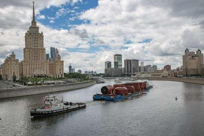 Московский НПЗ получил колонну вакуумной перегонки нефти для строительства установки Евро+ политика, проивзодство, россия, строительство