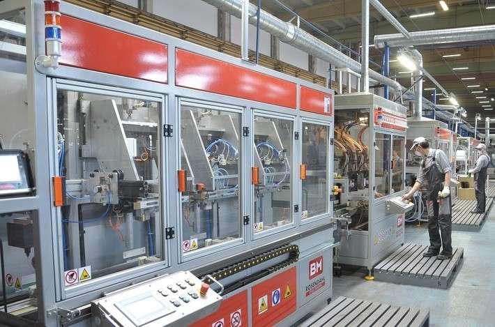 Аком запустил линии по производству штампованной решетки и автоматическую сборки аккумуляторов политика, проивзодство, россия, строительство